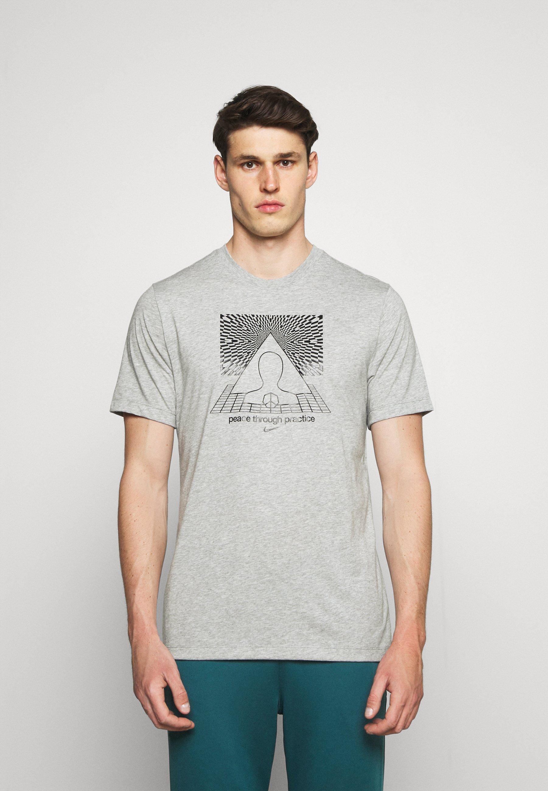 Men TEE YOGA - Print T-shirt