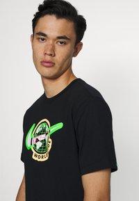 Nike Sportswear - TEE WORLDWIDE - Print T-shirt - black - 3