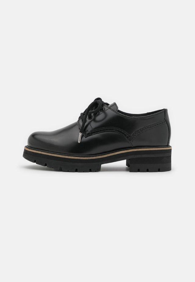 ORIANNA DERBY - Šněrovací boty - black