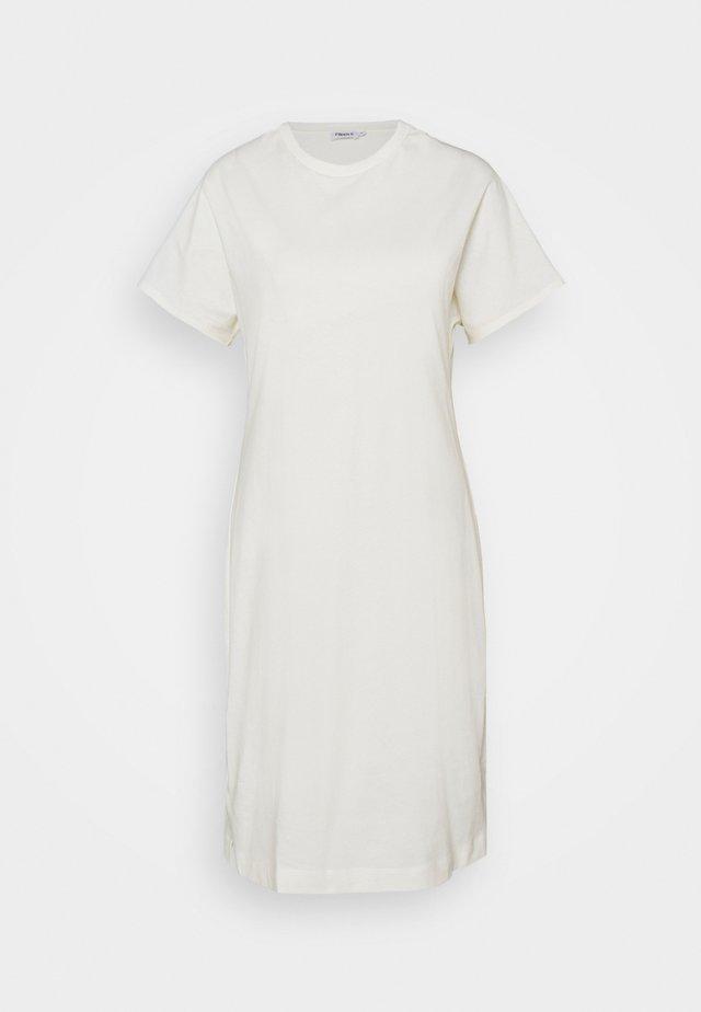 EFFIE DRESS - Jersey dress - white chalk