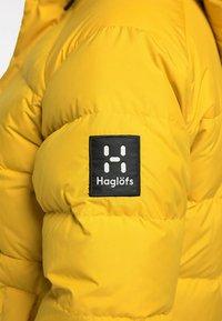 Haglöfs - NÄS DOWN JACKET  - Down jacket - pumpkin yellow - 5