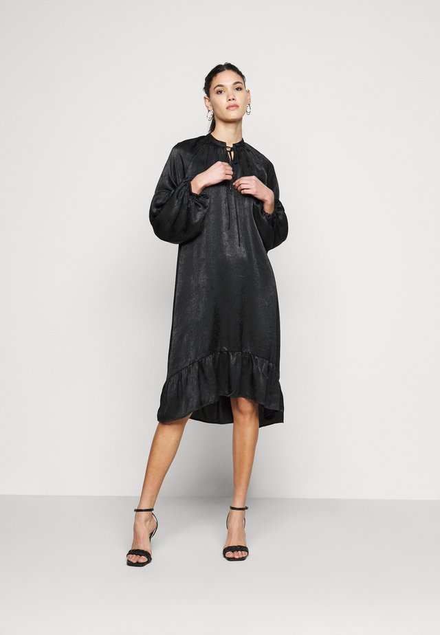 OBJELISABETH DRESS - Vardagsklänning - black