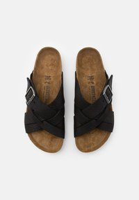 Birkenstock - LUGANO NARROW FIT - Pantofole - camberra old black - 3