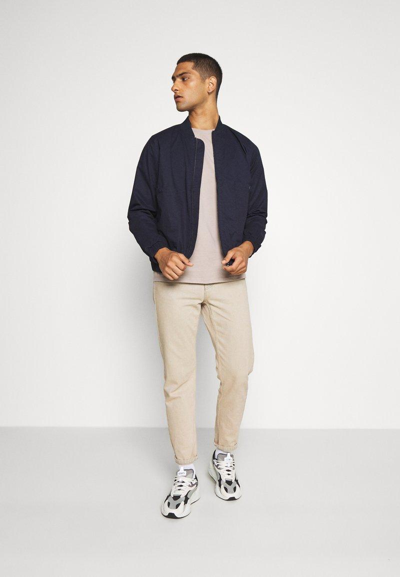 Topman - 7 PACK - Basic T-shirt - pink/white/grey/nature/stone