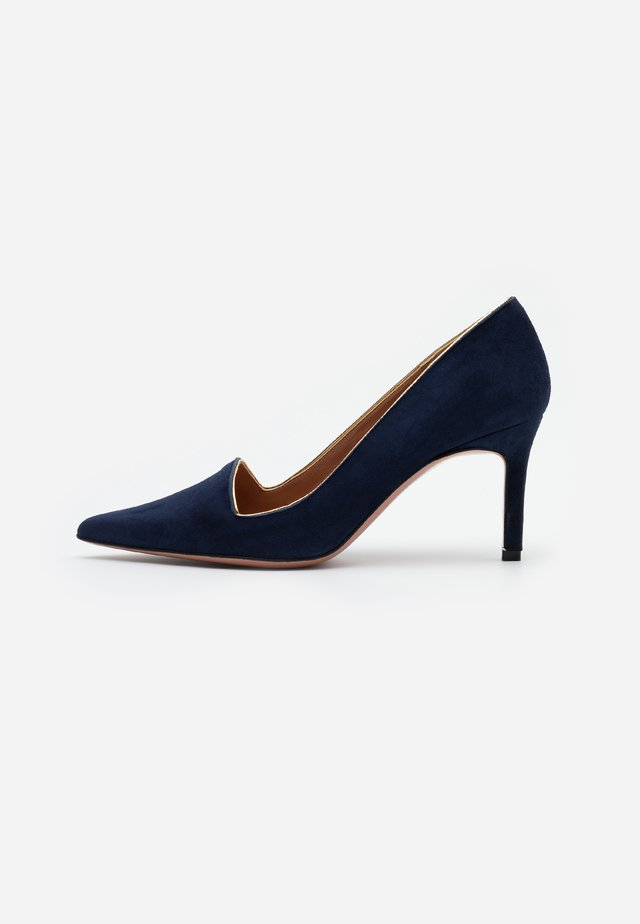 STEFY  - Classic heels - night shade/gold