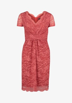 Cocktail dress / Party dress - mineral red