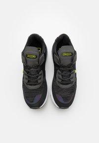 Kappa - LAVERTON UNISEX - Sports shoes - black/lime - 3