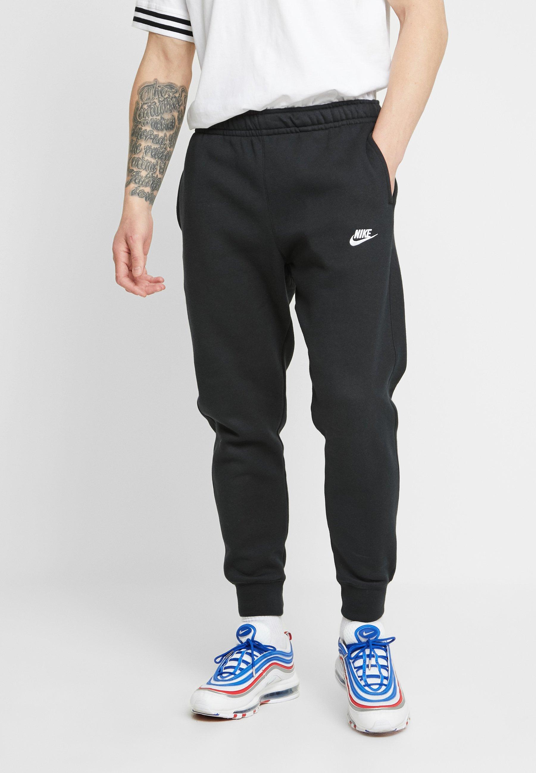 Nike Sportswear Club Pantalon De Survêtement Black Noir Zalando Fr
