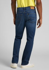 Lee - BROOKLYN - Jeans straight leg - mid worn in ray - 2