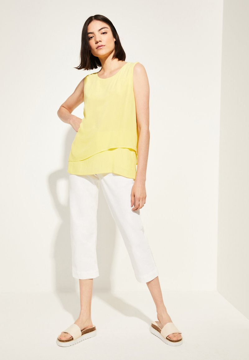 comma casual identity - Blouse - yellow