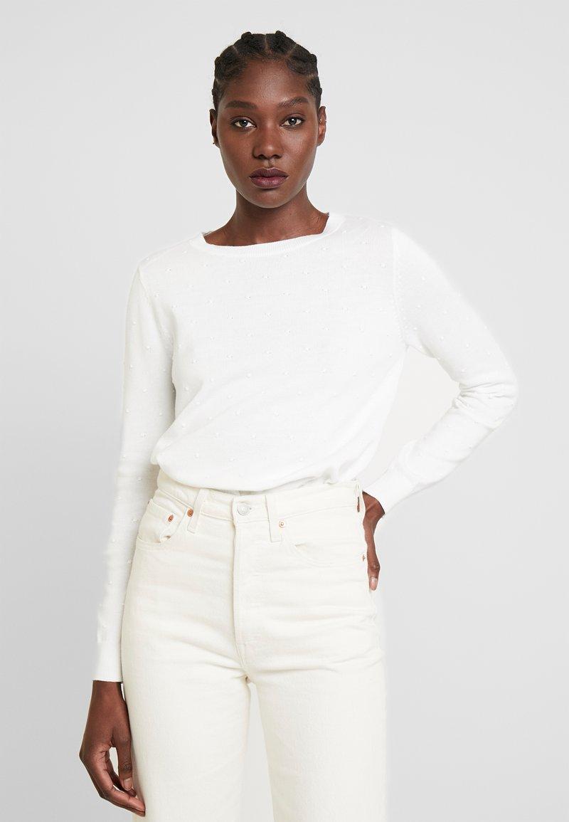 TOM TAILOR DENIM - DOT - Jersey de punto - off white