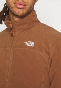 The North Face - GLACIER FULL ZIP - Fleece jacket - pinecone brown - 5