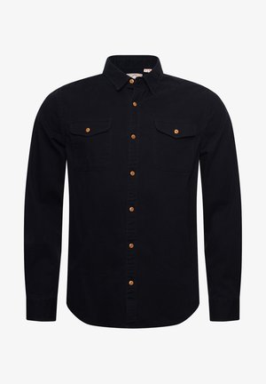 CLASSIC COMMUTER - Shirt - black twill