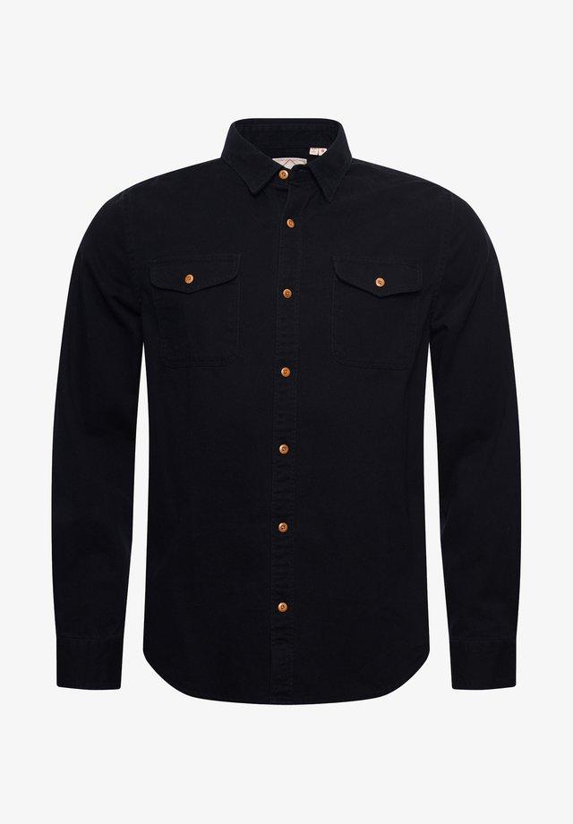 CLASSIC COMMUTER - Koszula - black twill