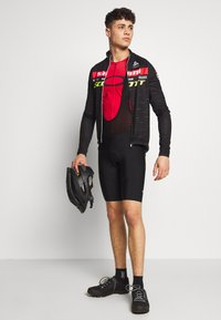 ODLO - STAND UP COLLAR FULL ZIP SCOTT SRAM - Sports shirt - black - 1