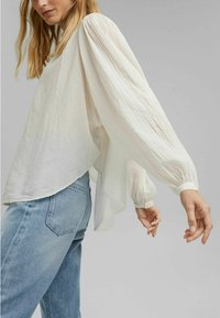 Esprit - Button-down blouse - off white - 4