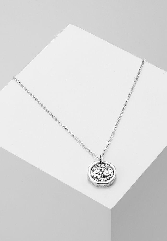 AQUILLA NECKLACE - Collier - silver-coloured
