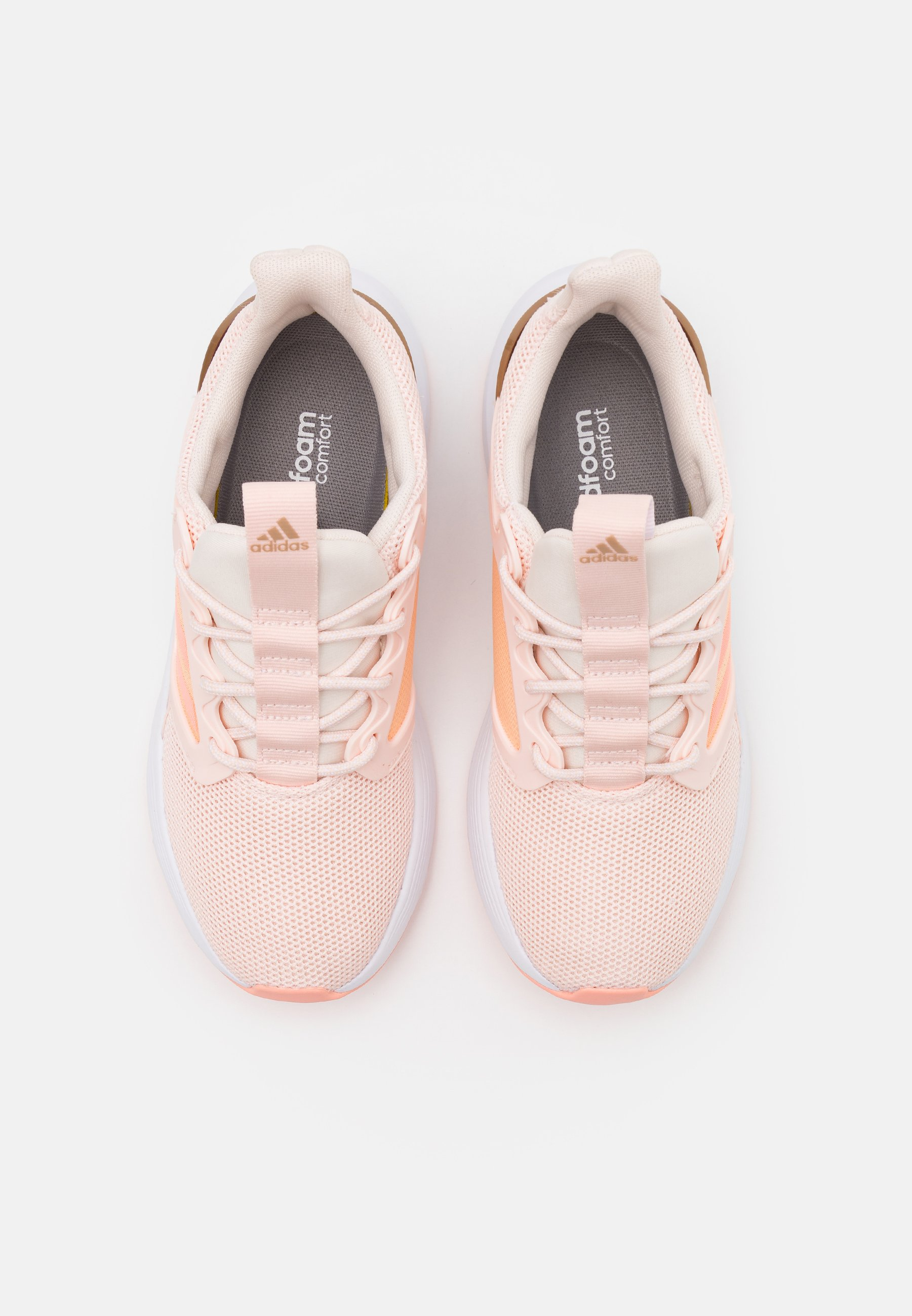 Adidas Cloudfoam Comfort Sneakers Beige and pink