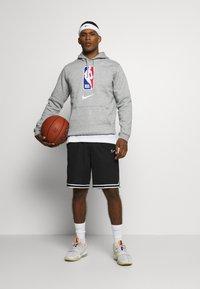 Nike Performance - NBA TEAM HOODY - Hoodie - dark grey heather - 1