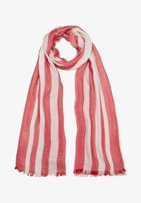 s.Oliver - Scarf - red stripes - 3
