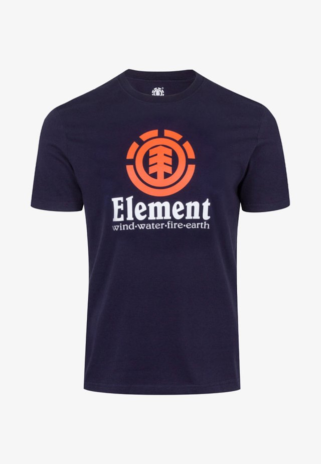 VERTICAL - T-shirt imprimé - blue