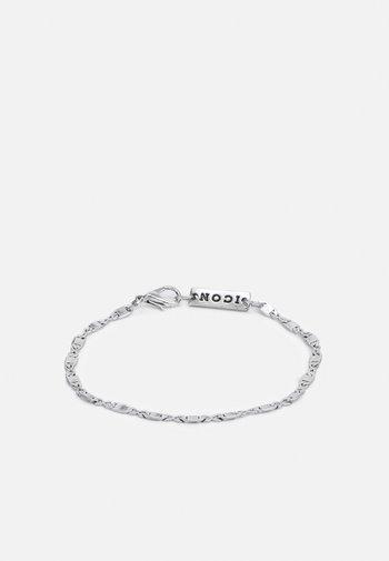 FINE FIGARO CHAIN BRACELET - Bracelet - silver-coloured