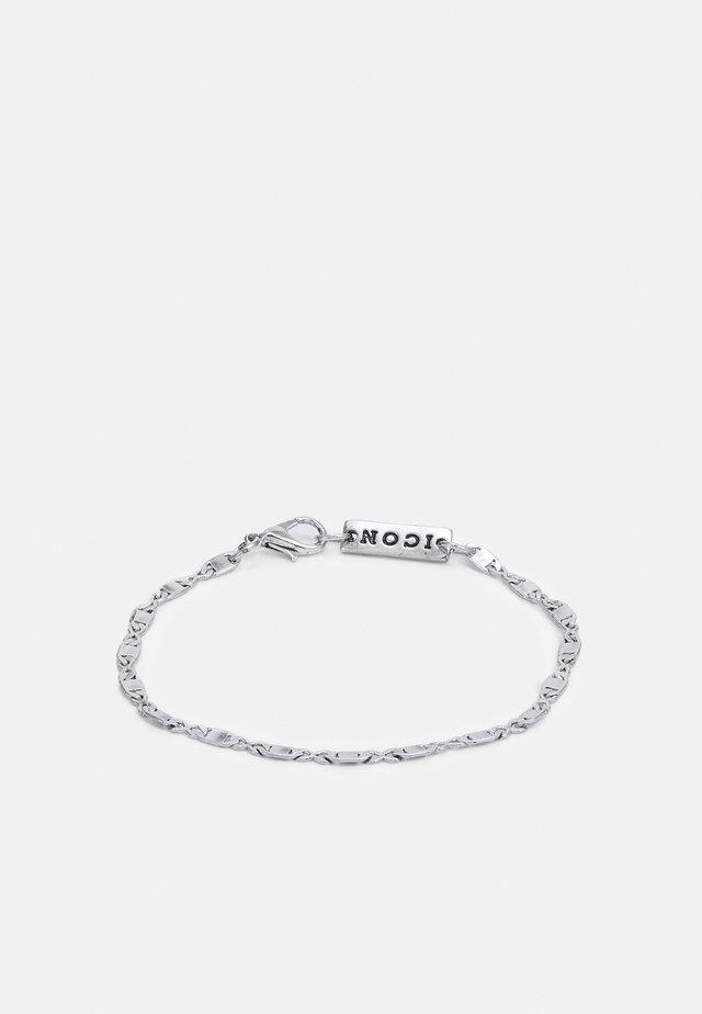 FINE FIGARO CHAIN BRACELET - Armband - silver-coloured