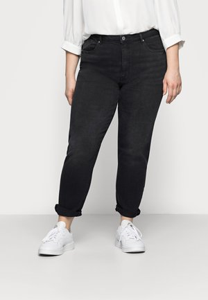 CARENEDA  - Straight leg jeans - black/washed
