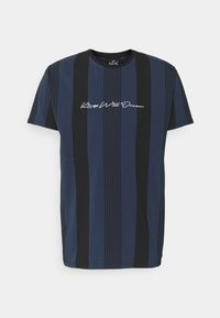 Kings Will Dream - VEDLO - Print T-shirt - jet black / navy - 3