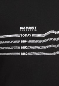 Mammut - SEILE MEN - Print T-shirt - black - 2