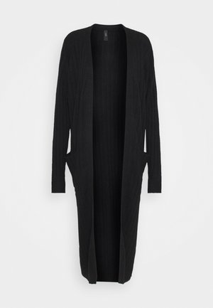 YASCAMPUS LONG CARDIGAN - Cardigan - black