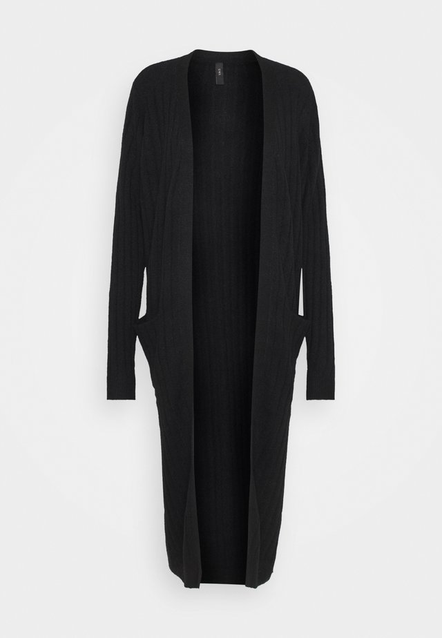 YASCAMPUS LONG CARDIGAN - Gilet - black