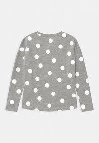 Name it - NKFVALTINE - Long sleeved top - grey melange - 1