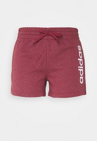adidas Performance - Sports shorts - legend red/white - 3