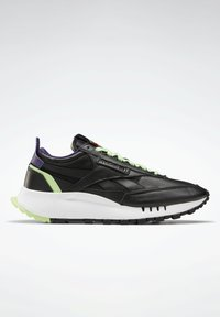 Reebok Classic - NEW LEGACY LEATHER SHOES - Trainers - black - 5