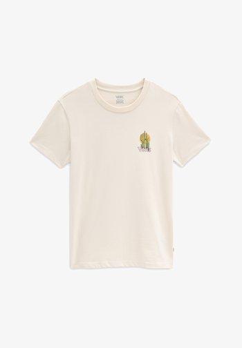 Print T-shirt - sandshell
