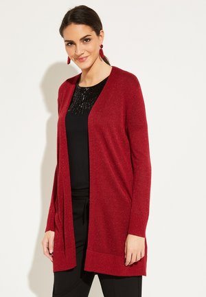 Cardigan - scarlet red