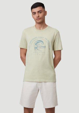 Print T-shirt - lint