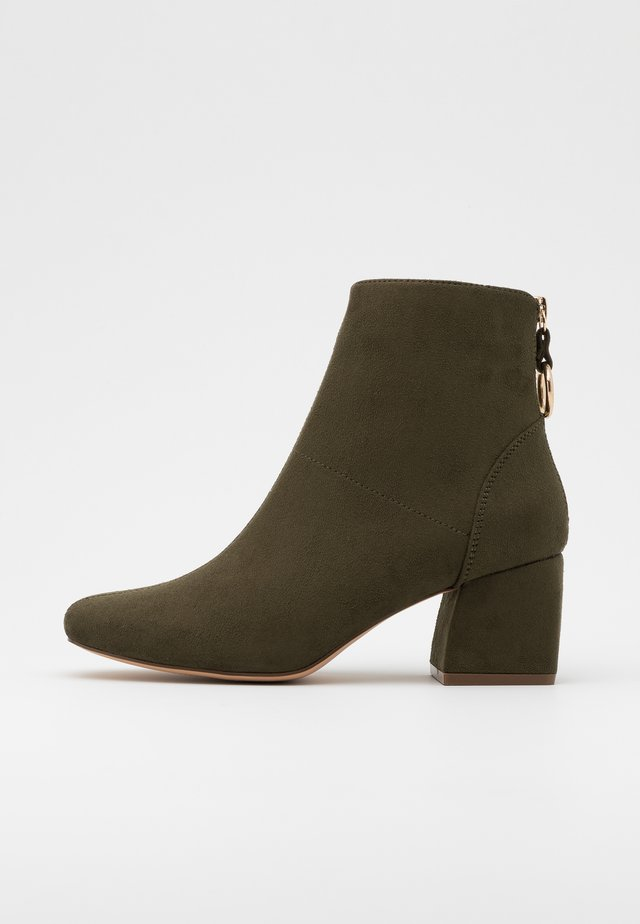 ONLBILLIE LIFE HEELED BOOT  - Classic ankle boots - khaki