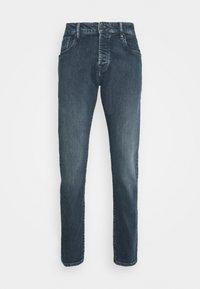 HIDE AND SEEK - Slim fit jeans - dark blue denim