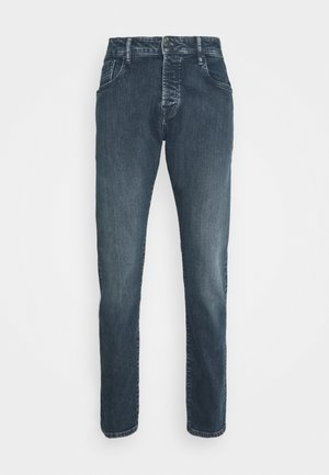 HIDE AND SEEK - Slim fit -farkut - dark blue denim
