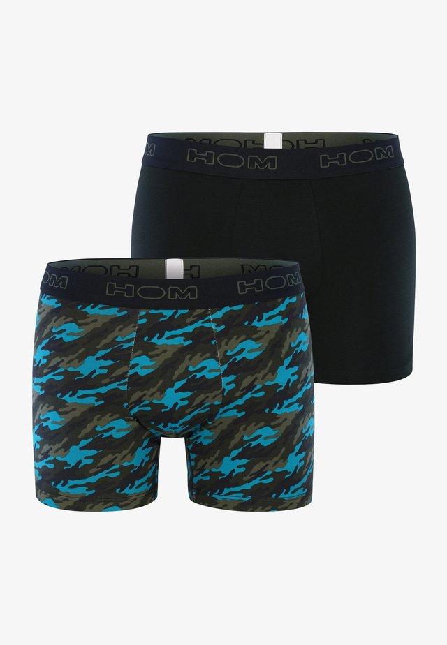 2-PACK LONG BOXER BRIEFS  - Pants - khaki print
