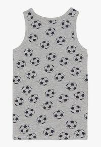 Name it - NKMTANK FOOTBALL 2 PACK - Camiseta interior - grey melange - 1