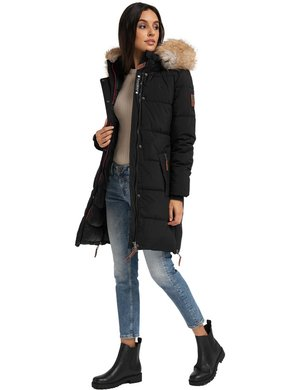 HALINA - Winter coat - black