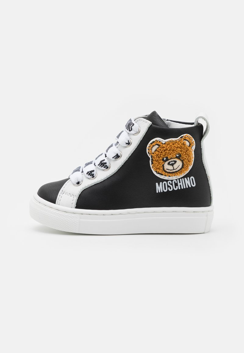 MOSCHINO - UNISEX - High-top trainers - black