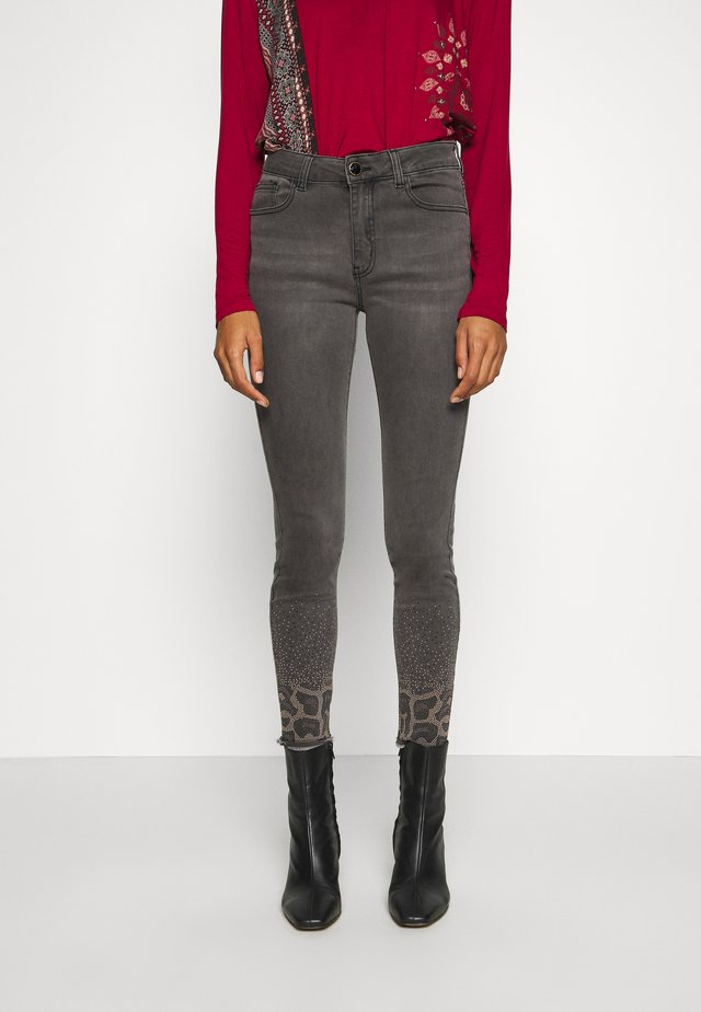 SHELLEY - Slim fit jeans - denim dark