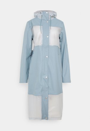 TRUE RAINCOAT - Regnjakke - smoke blue