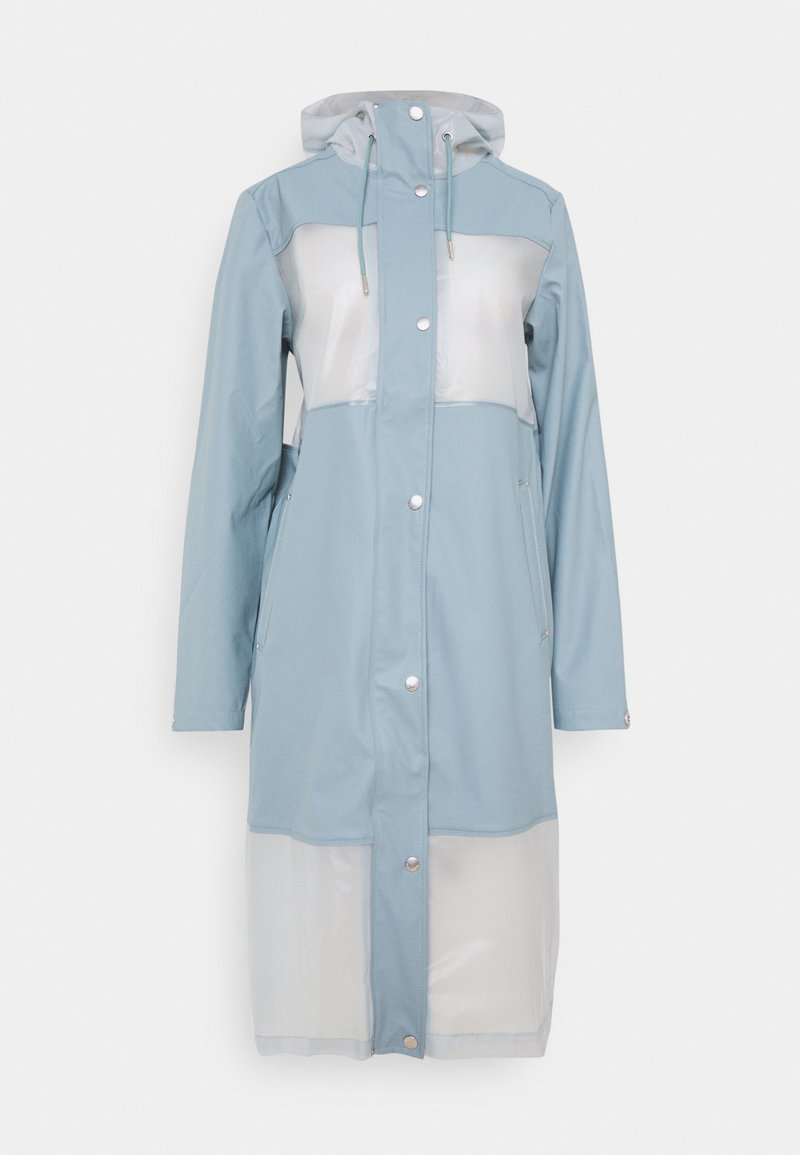 Ilse Jacobsen - TRUE RAINCOAT - Waterproof jacket - smoke blue