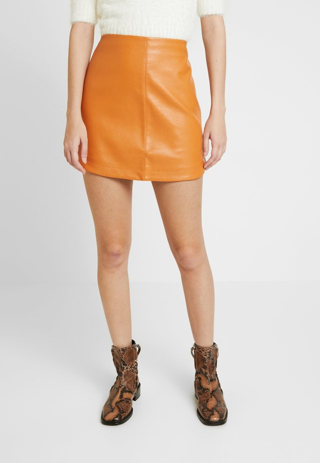SKIRT - Minirok - rust