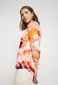 ONLY - ONLALMA LIFE - Button-down blouse - cloud dancer/marble - 3